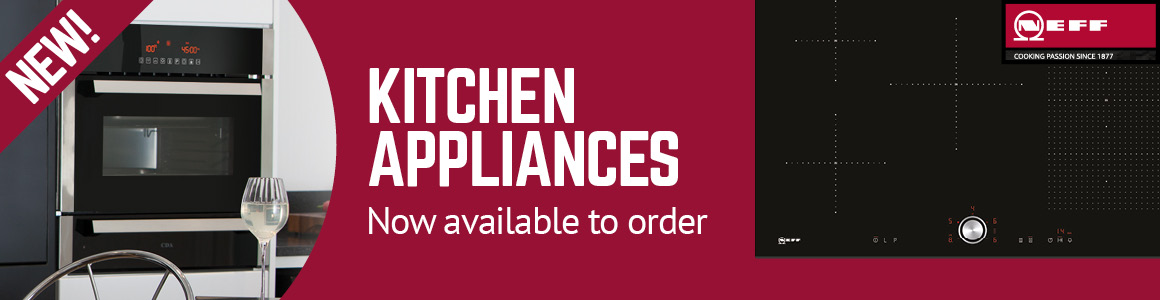 NEFF kitchen appliances available to order at Selco