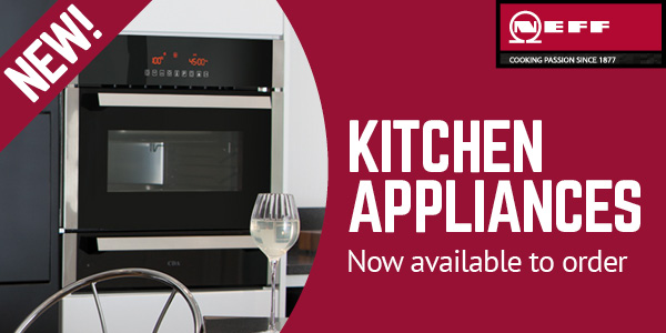 NEFF kitchen appliances available at Selco