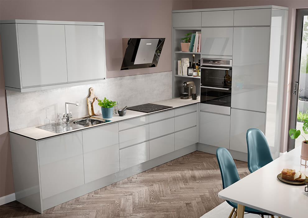 Capri Grey Kitchen