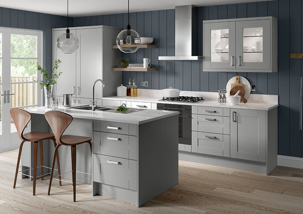 Verona Grey Kitchen