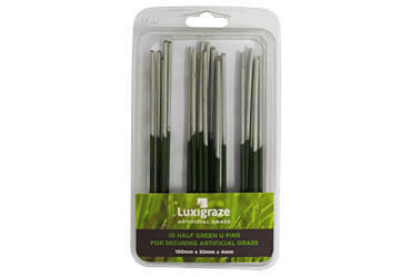 Luxigraze artificial grass U pins