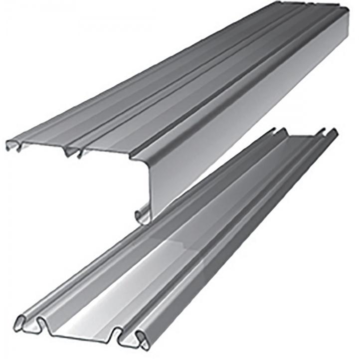 Sliding Door Trackset Silver 2692mm Selco