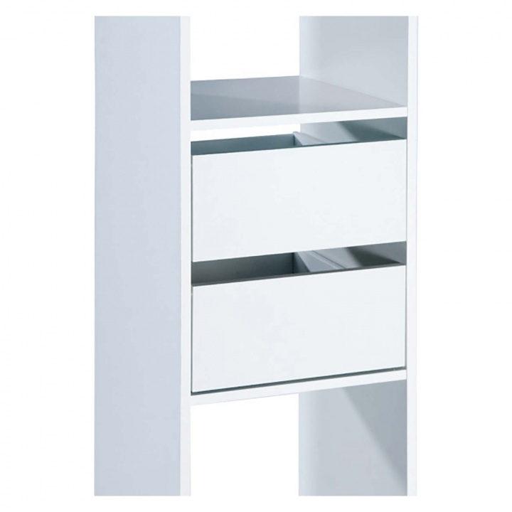 Basix white drawer pack for Basix tower unit