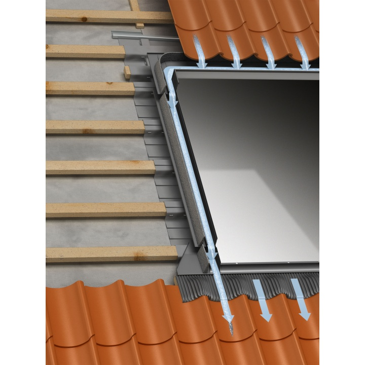 Velux EDW FK06 Tile Flashing up to 120mm thick