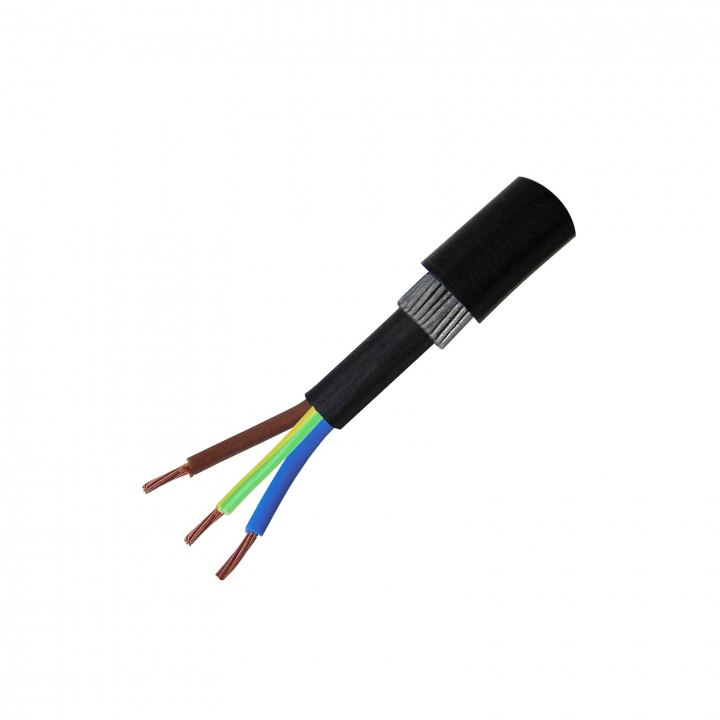 2.5mm 3C Steel Wire Armoured Cable 25m