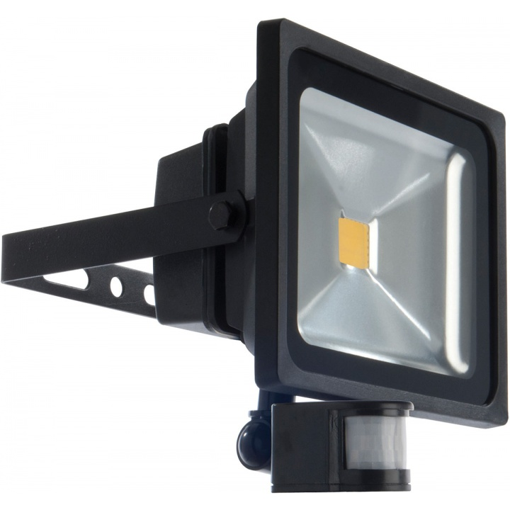 BG LED Floodlight With PIR 30W