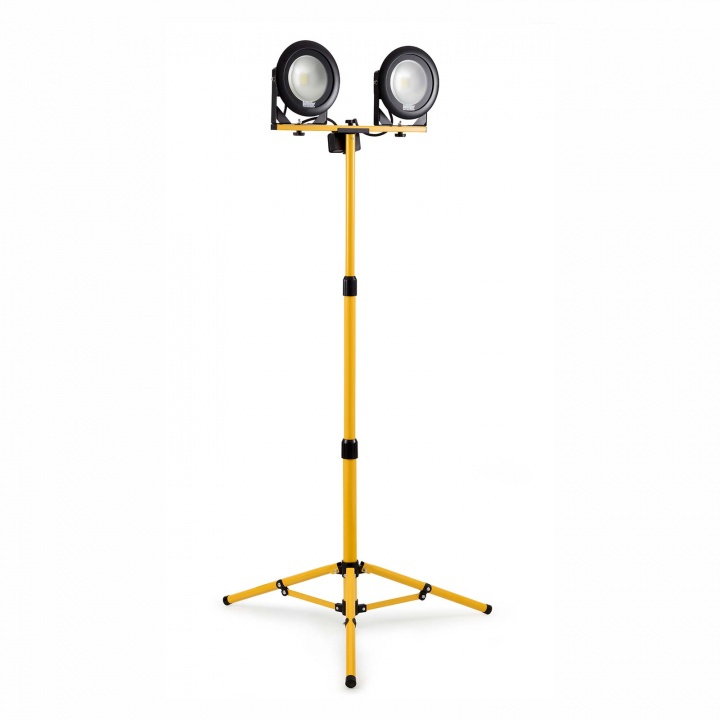 Defender Twin Head Tripod Worklight 2400 Lumen 240V