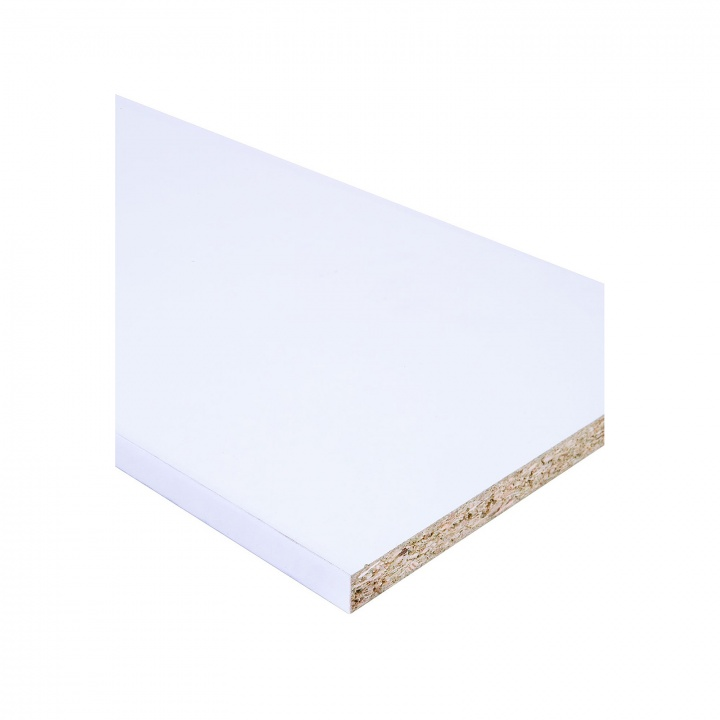 White MFC Panel 1220 x 2440mm FSC®
