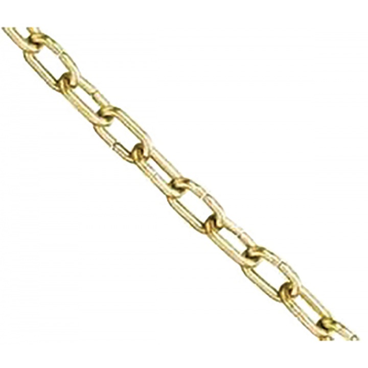 Brass Plated Clock Chain 1.4mm x 1m