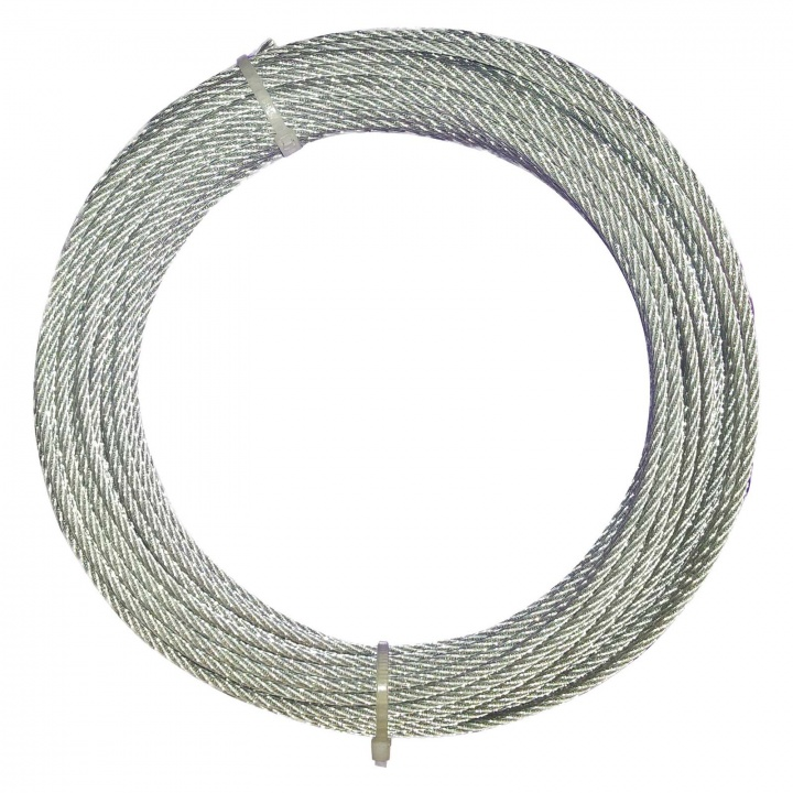 Wire Rope Galvanised 4mm x 10m