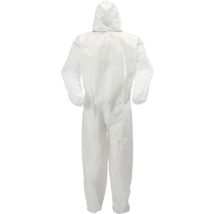 White Disposable Coverall XL