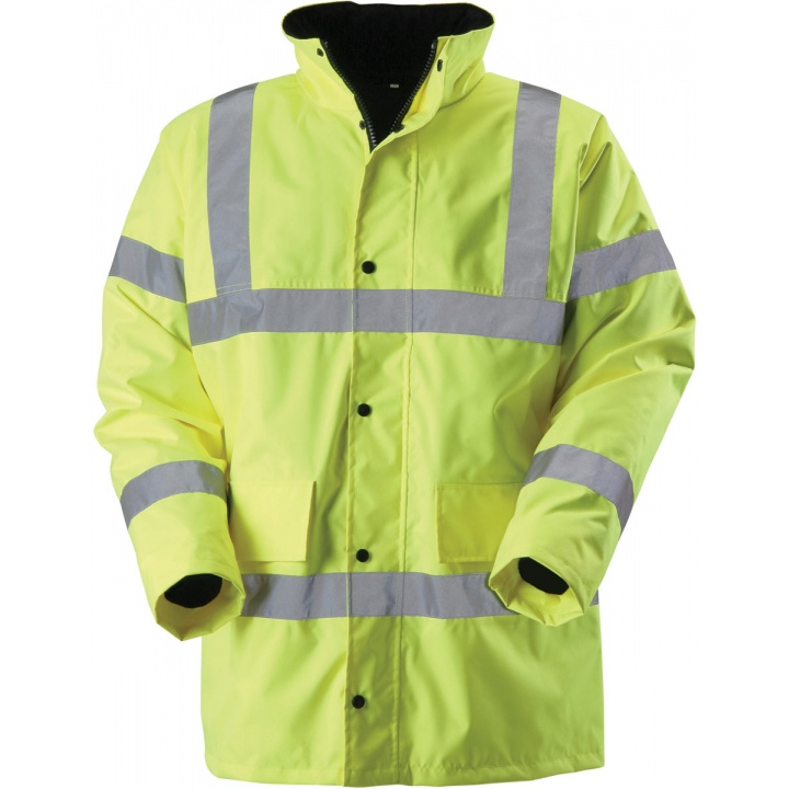 Hi-Vis Yellow Coat 2XL