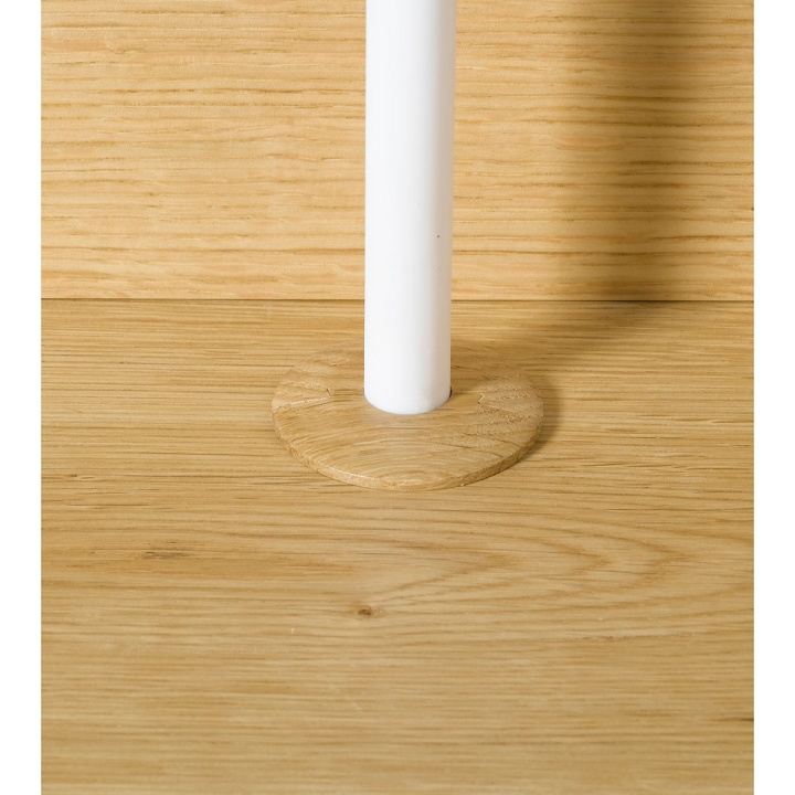 Solid Oak Pipe Covers for Medium Oak Flooring Pk 2