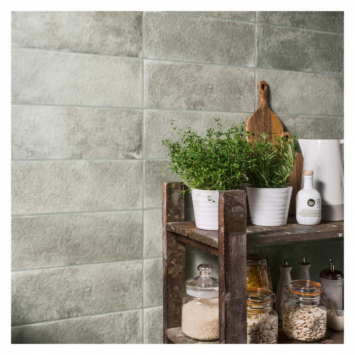 Harbour Glazed Breakwater Ceramic Wall Tile 150 X 400 Selco