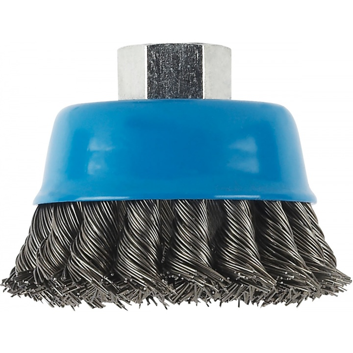 HSS Knotted Steel Brush Wire Accessory M14 Cup