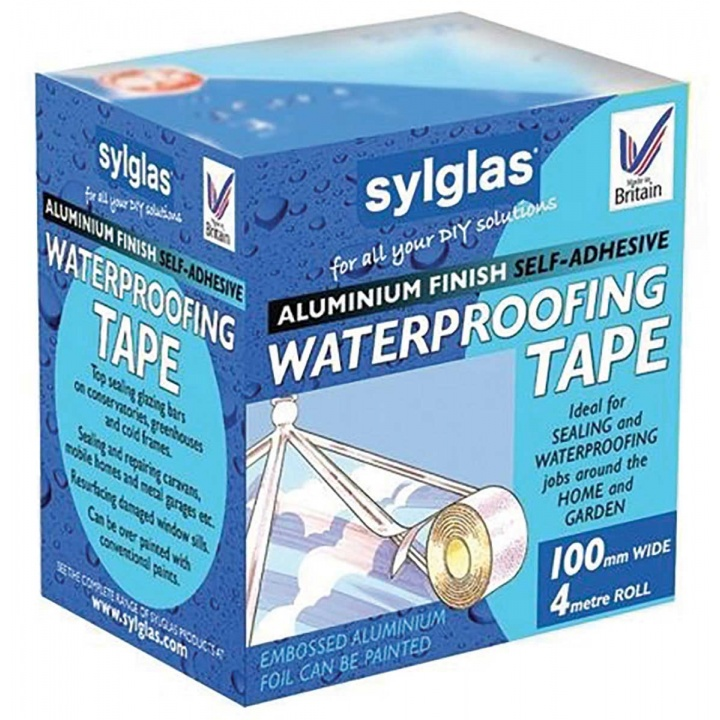 Sylglas Aluminium Waterproofing Tape 100mm x 4m