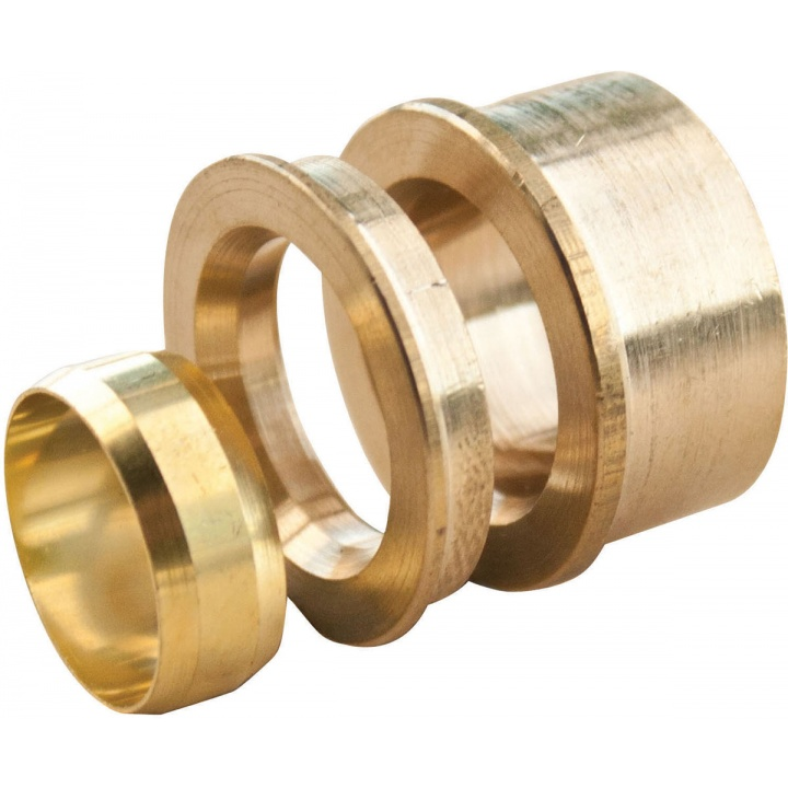 Copper Compression Reducing Set 15mm x 10mm