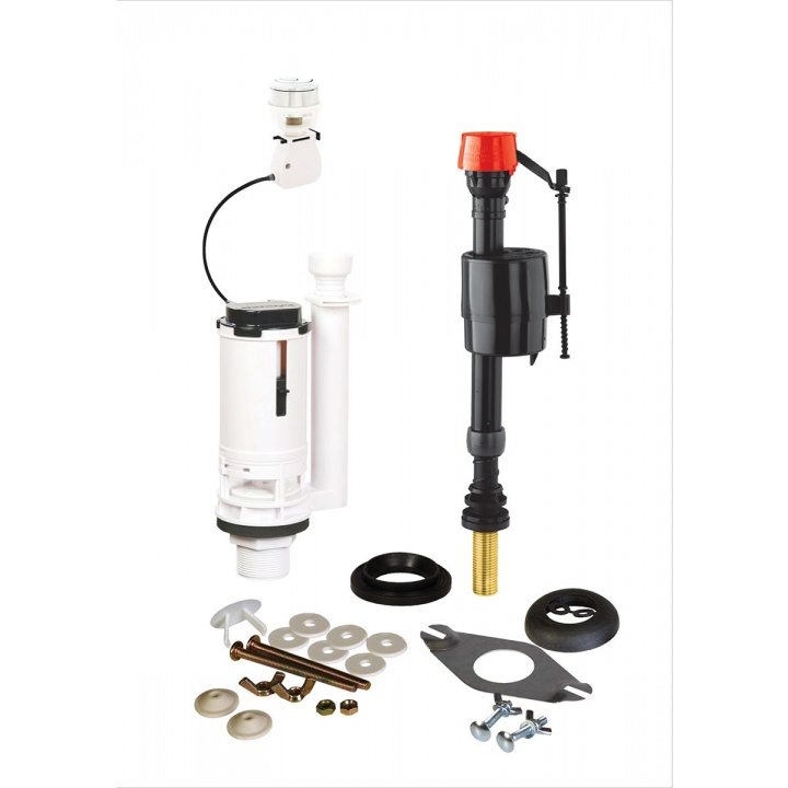 Fluidmaster PRO Universal Cistern Repair Pack with Dual Flush Valve