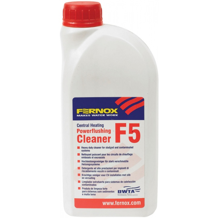 Fernox F5 Central Heating System Cleaner 1ltr