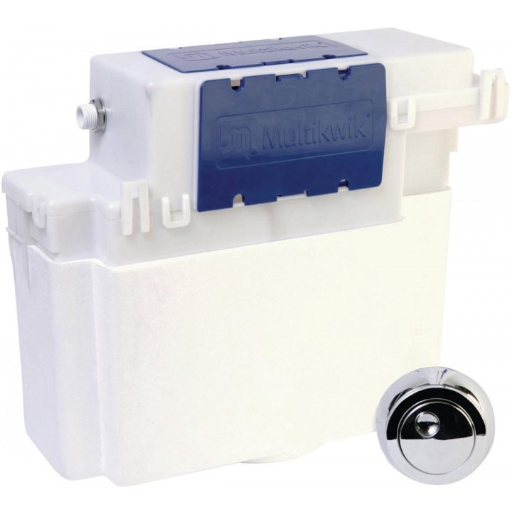 Multikwik Proteus Concealed Cistern with Push Button Fittings