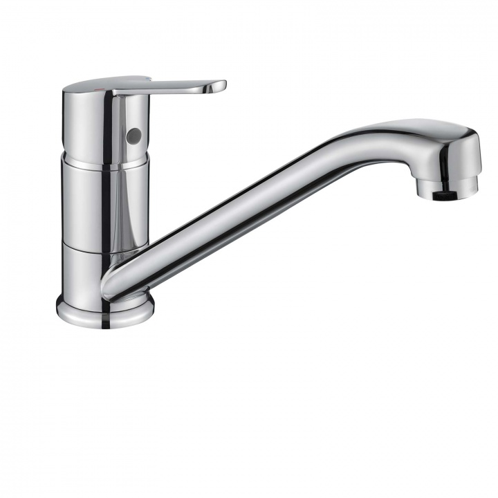 Comap Araya Mono Kitchen Sink Mixer Tap with Long Spout
