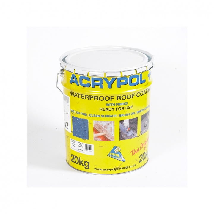 Acrypol+  Roof Coating White 20kg