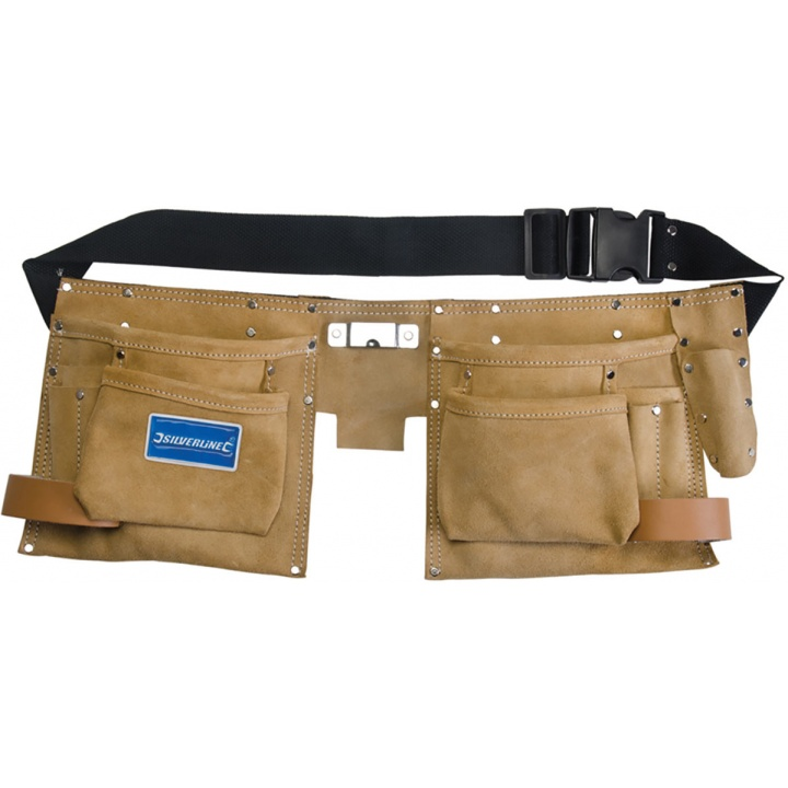 8 Pocket Double Pouch Tool Belt