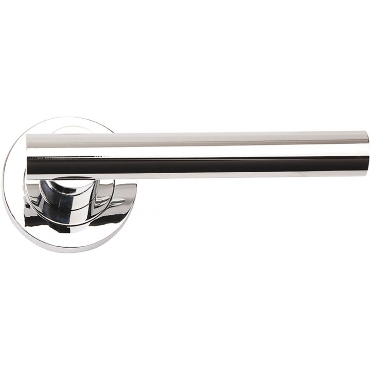 Sultan Lever Door Handles Polished Chrome