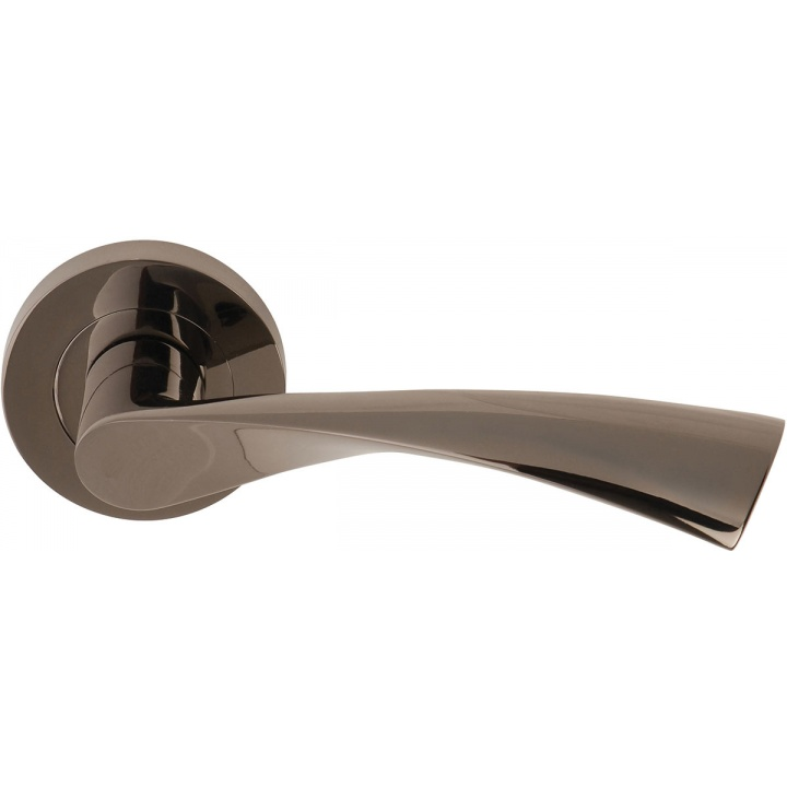 Flex Lever Door Handles Black Nickel