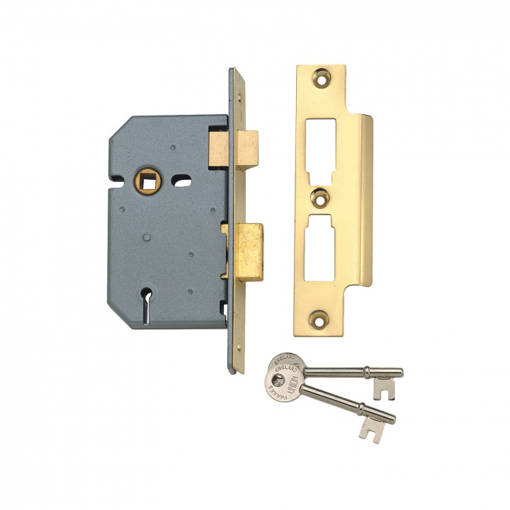 Union Y2277 3 Lever Mortice Sashlock Chrome 65mm