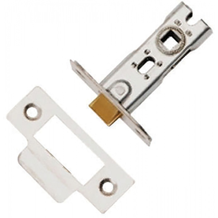 Dale Tubular Mortice Latch SSS 76mm Bolt Through