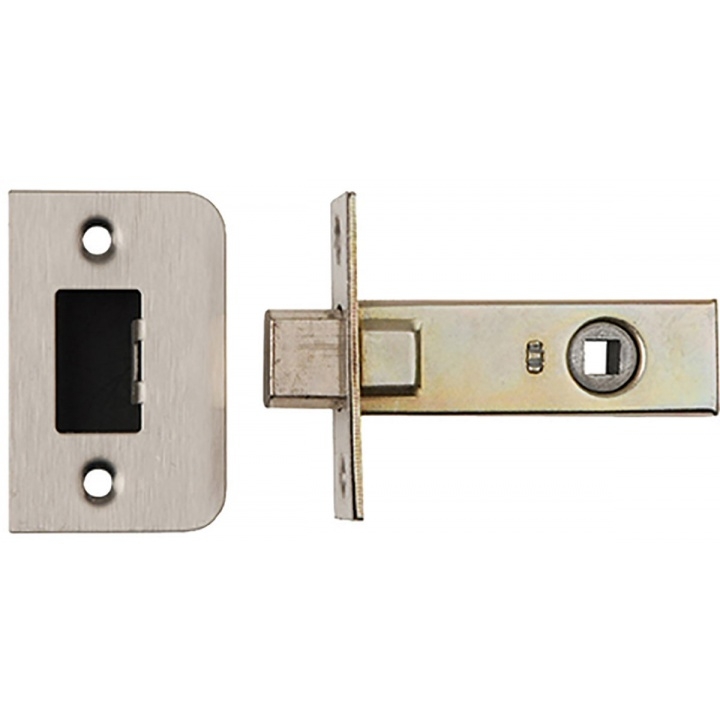 Dale Bathroom Mortice Deadbolt Satin Stainless Steel 65mm