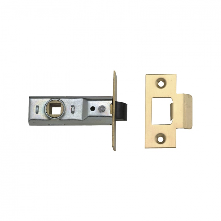 Union Y2648 Tubular Mortice Latch Satin Chrome 80mm