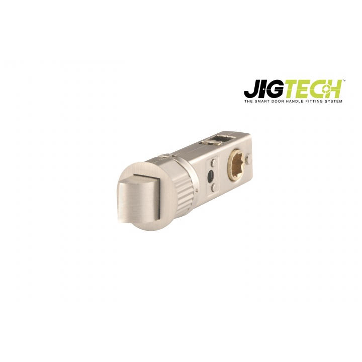 Jigtech SMART 57mm Backset Mortice Latch Satin Nickle Plated