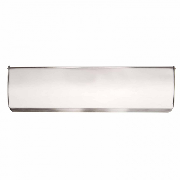 Victorian Inner Letter Flap Satin Chrome 279mm