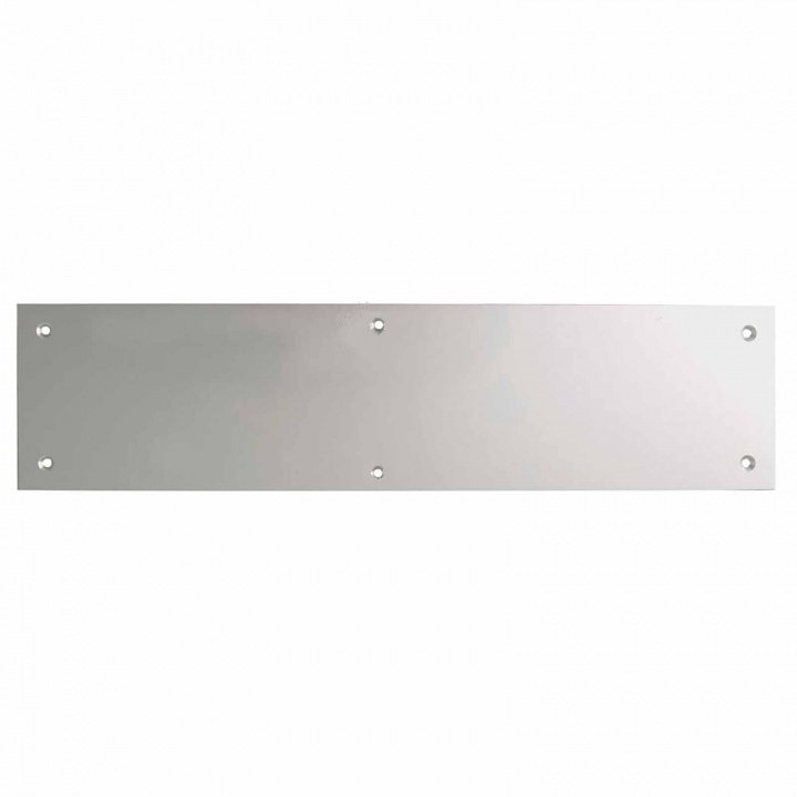 Kicking Plate Satin Aluminium 800 x 150mm