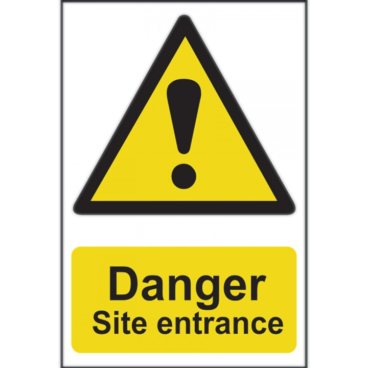 Danger Site Entrance 400 x 600mm