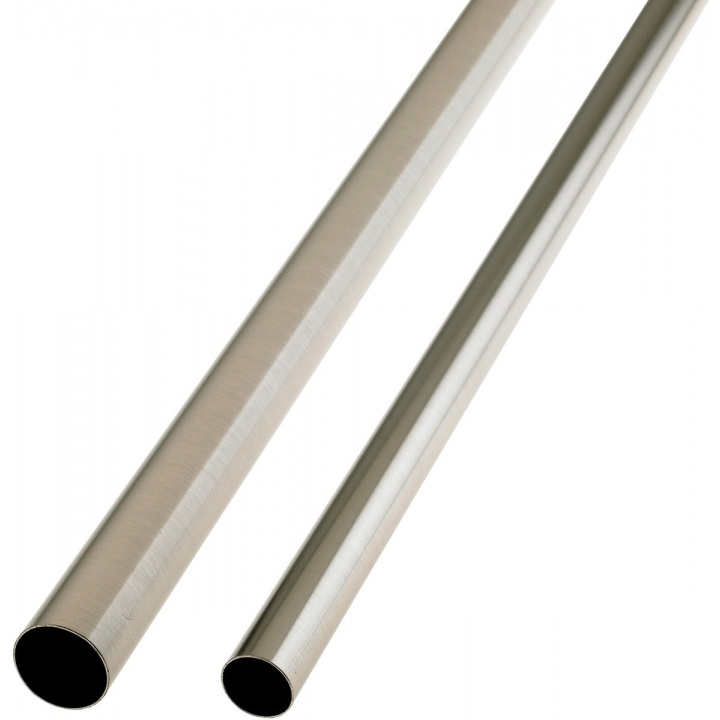 Colorail Tube Brushed Nickel 25 x 1200mm