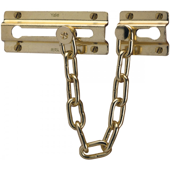 Yale P1037 Door Chain Polished Brass