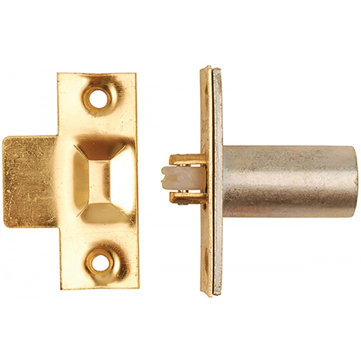 Adjustable Roller Catch Brass Plated