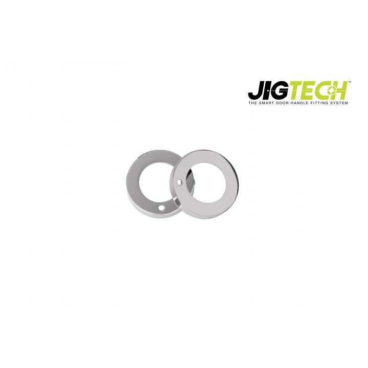 Jigtech Round Privacy Adaptor Polished Chrome Plated
