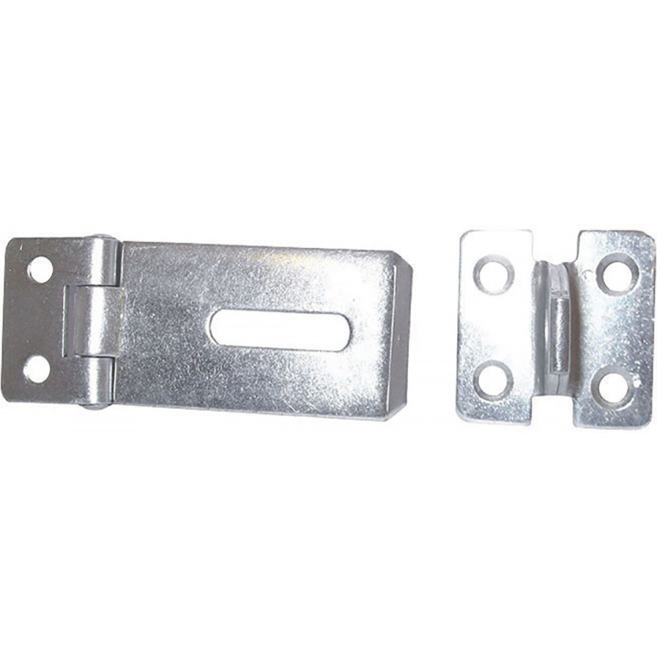 Safety Hasp & Staple 75mm BZP