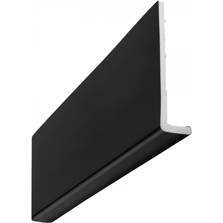 Single Leg Black Universal Fascia Board 200mm x 10mm