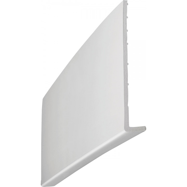 Single Leg White Universal Fascia Board 225mm x 10mm