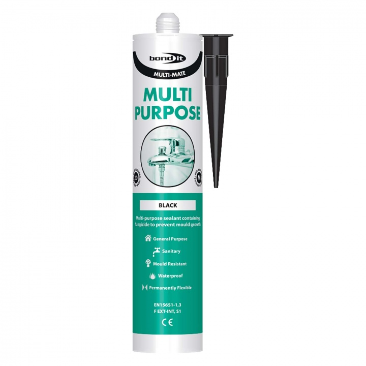 Bond It Multi-Purpose Silicone Black 300ml
