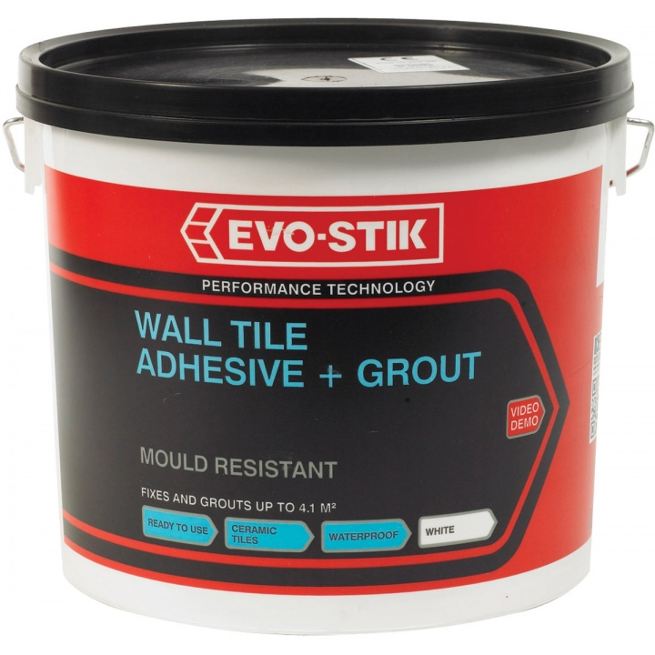 Evo-Stik Mould Resistant Wall Tile Adhesive & Grout Large