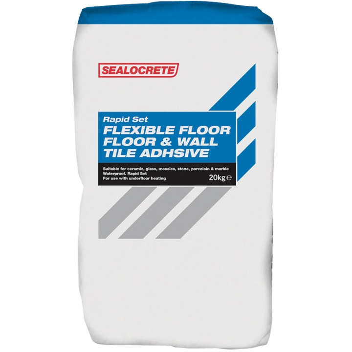 Sealocrete Flexible Rapid Set Wall Tile Adhesive 20kg Selco