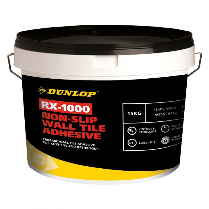 Dunlop RX-1000 Non-Slip Wall Tile Adhesive 5kg