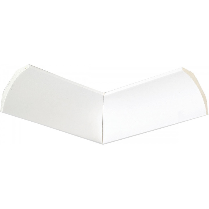 SuperCove Polyurethane Coving Internal Corner 127mm