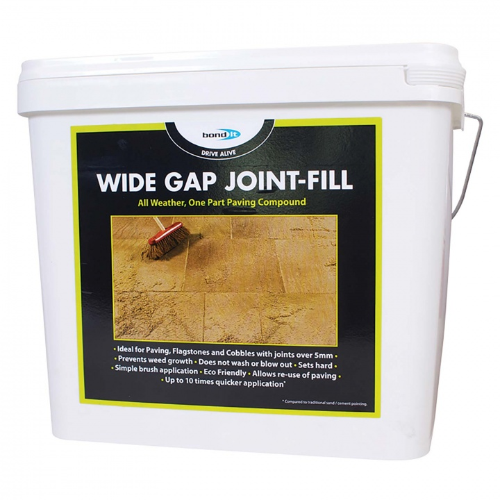 Drive Alive Wide Gap Joint-Fill All Weather Paving Compound Buff 15kg